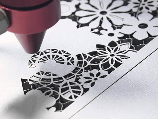 Paper-laser-cutting